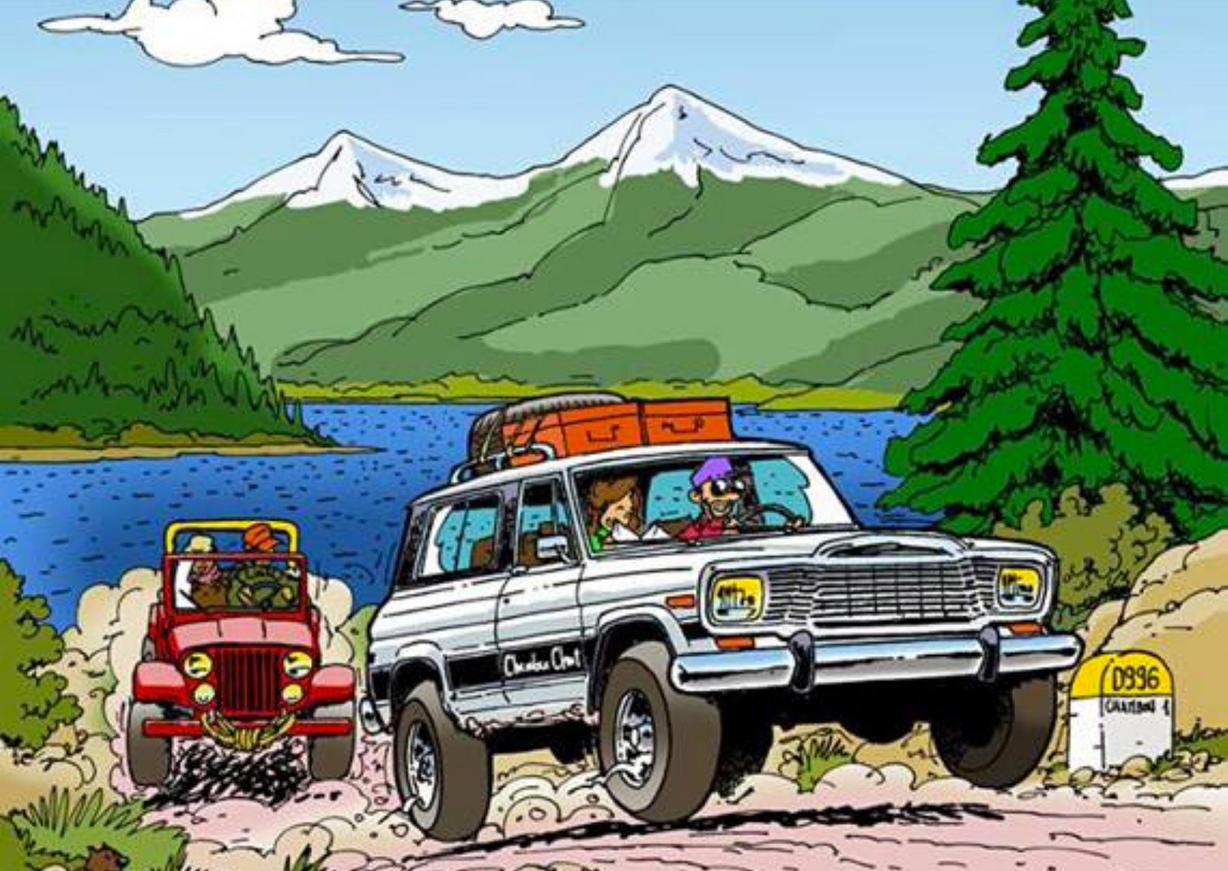 Chambon sur Jeep : 1,2 & 3 Mai 2020
